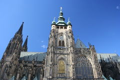 St Vitus Cathedral, Prague, Czech Republic Royalty Free Stock Photography