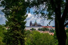 St. Vitus Cathedral, Prague, Czech Republic Stock Photography