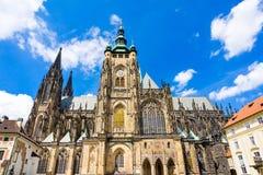 St Vitus Cathedral Prague Czech Republic Immagini Stock