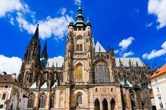 St Vitus Cathedral Prague Czech Republic Fotografie Stock Libere da Diritti
