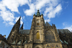 St. Vitus Cathedral in Prague, Czech Republic Royalty Free Stock Images