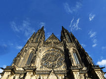 St. Vitus Cathedral in Prague, Czech Republic Stock Image