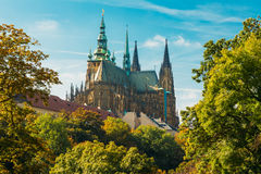 St. Vitus Cathedral Prague, Czech Republic Royalty Free Stock Image