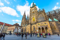 St. Vitus Cathedral in Prague, Czech Republic Royalty Free Stock Photography