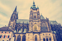 St. Vitus Cathedral Prague, Czech Republic. Stock Image