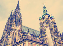 St. Vitus Cathedral Prague, Czech Republic. Royalty Free Stock Images