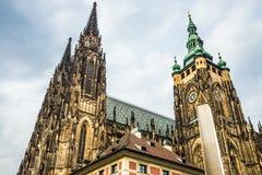 St. Vitus Cathedral Prague, Czech Republic. Stock Photography