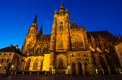 St Vitus Cathedral, Prague, Czech Republic Stock Images