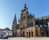 St. vitus cathedral in prague czech republic Royalty Free Stock Images