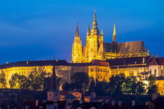 St Vitus Cathedral Prague Czech Republic Royalty Free Stock Photo