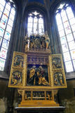 St Vitus cathedral, Prague Stock Image