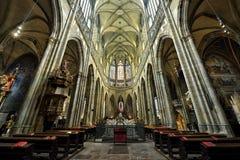 St. Vitus Cathedral, Prague Royalty Free Stock Images
