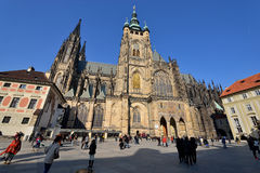 St. Vitus Cathedral, Prague Royalty Free Stock Images