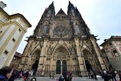 St. Vitus Cathedral, Prague Stock Image