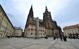 St. Vitus Cathedral, Prague Stock Photography