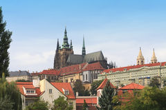 St Vitus cathedral in Prague Royalty Free Stock Image