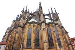 St Vitus cathedral in Prague. As symbol of tourism royalty free stock images