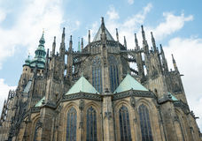 St.Vitus Cathedral in Prague, Royalty Free Stock Photography