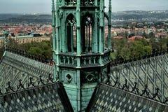 St Vitus Cathedral, République Tchèque Images libres de droits