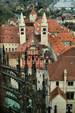 St Vitus Cathedral, République Tchèque Images stock