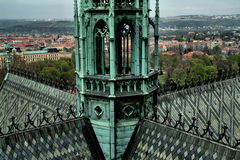 St Vitus Cathedral, repubblica Ceca Immagini Stock Libere da Diritti