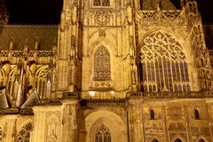 St. Vitus Cathedral (Roman Catholic cathedral ) in Prague Castle Stock Image