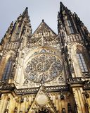 The st. Vitus cathedral Stock Image