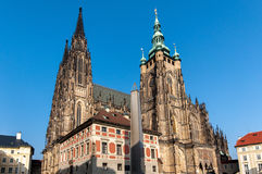 St Vitus Cathedrial Royalty Free Stock Photography