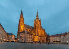 St Vitus Cathedrial Royalty Free Stock Photos