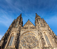 St. Vitus Catherdal, Prague Stock Image