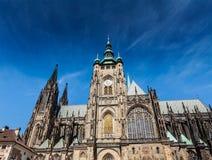 St. Vitus Catherdal, Prague Royalty Free Stock Photos