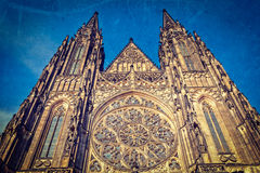 St. Vitus Catherdal, Prague Royalty Free Stock Image