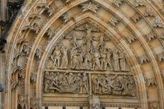 St. Vitus Chatedrale. St. Vitus Metroploital Chatedral in Prague, Czech Republic stock photos