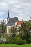 St. Vitus Church, Cesky Krumlov, Czech republic Royalty Free Stock Image