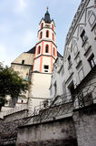St. Vitus Church in Cesky Krumlov, Czech Republic Stock Photos