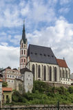 St Vitus Church, Cesky Krumlov, repubblica Ceca Fotografia Stock Libera da Diritti