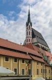 St Vitus Church, Cesky Krumlov, repubblica Ceca Immagini Stock