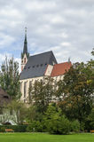 St Vitus Church, Cesky Krumlov, repubblica Ceca Immagine Stock Libera da Diritti