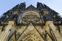St. Vitus Church in Hradcany, Prague Stock Photo