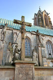 St. Vitus church in Meppen Royalty Free Stock Images