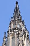 St Vitus del towerPrague del dettaglio Fotografia Stock Libera da Diritti