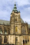 St. Vitus Gothic Cathedral Royalty Free Stock Photography