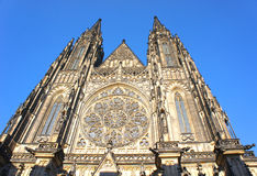 St. Vitus gothic cathedral in Prague, Czech Republic. Stock Photo