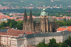 St Vitus, het Kasteel van Praag Royalty-vrije Stock Afbeeldingen