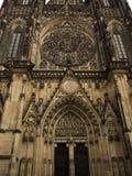 St Vitus katedra Zdjęcie Stock