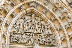 St Vitus katedra, Praga obrazy royalty free