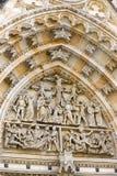 St Vitus katedra, Praga zdjęcie stock