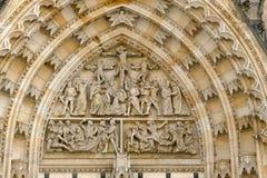 St Vitus katedra, Praga obraz stock