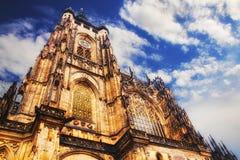 St Vitus katedra w Praga Zdjęcie Royalty Free