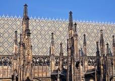 St.Vitus kathedraal Stock Afbeeldingen